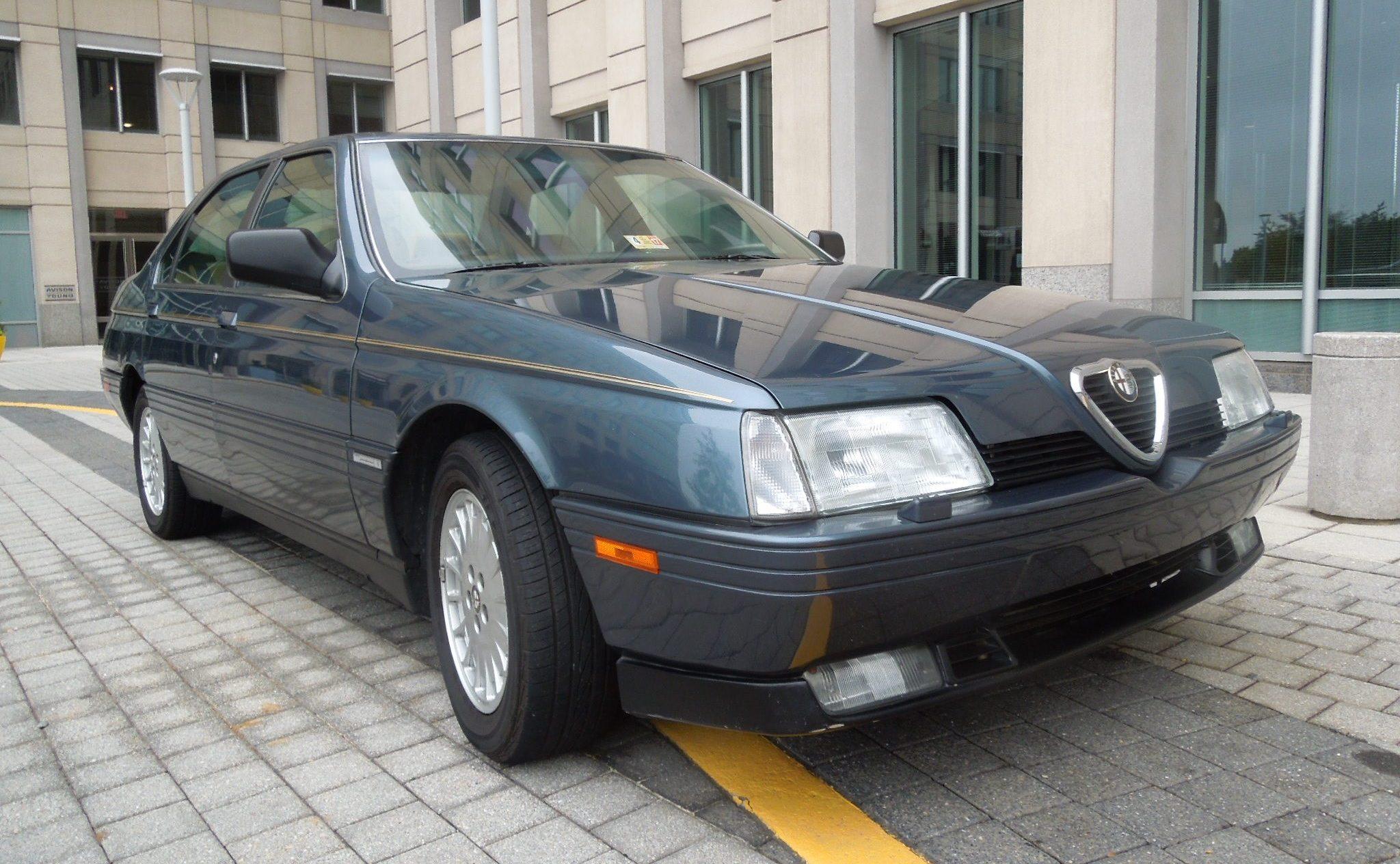 black 1991 Alfa Romeo 164L