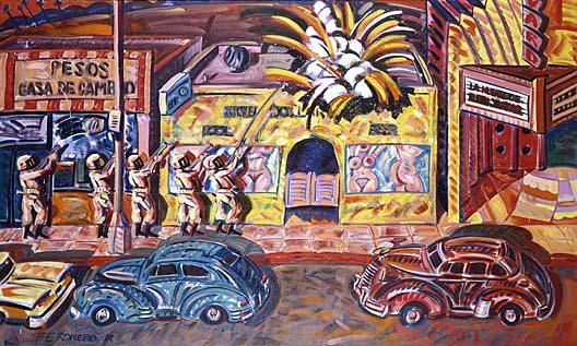 Frank Gutierrez's original painting