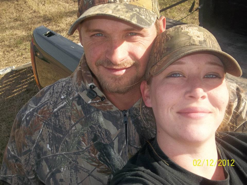 Randy Edwards in a picture with his wife
