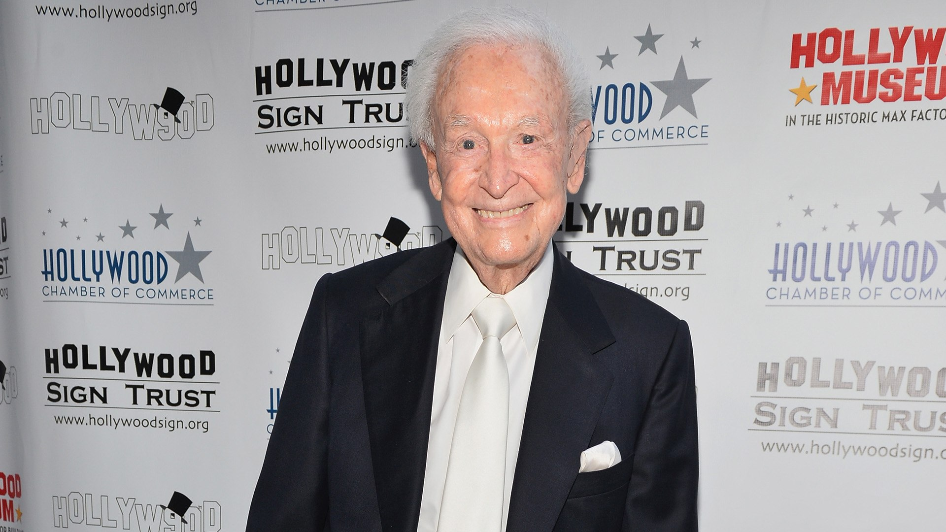 Bob Barker smiling for a picture