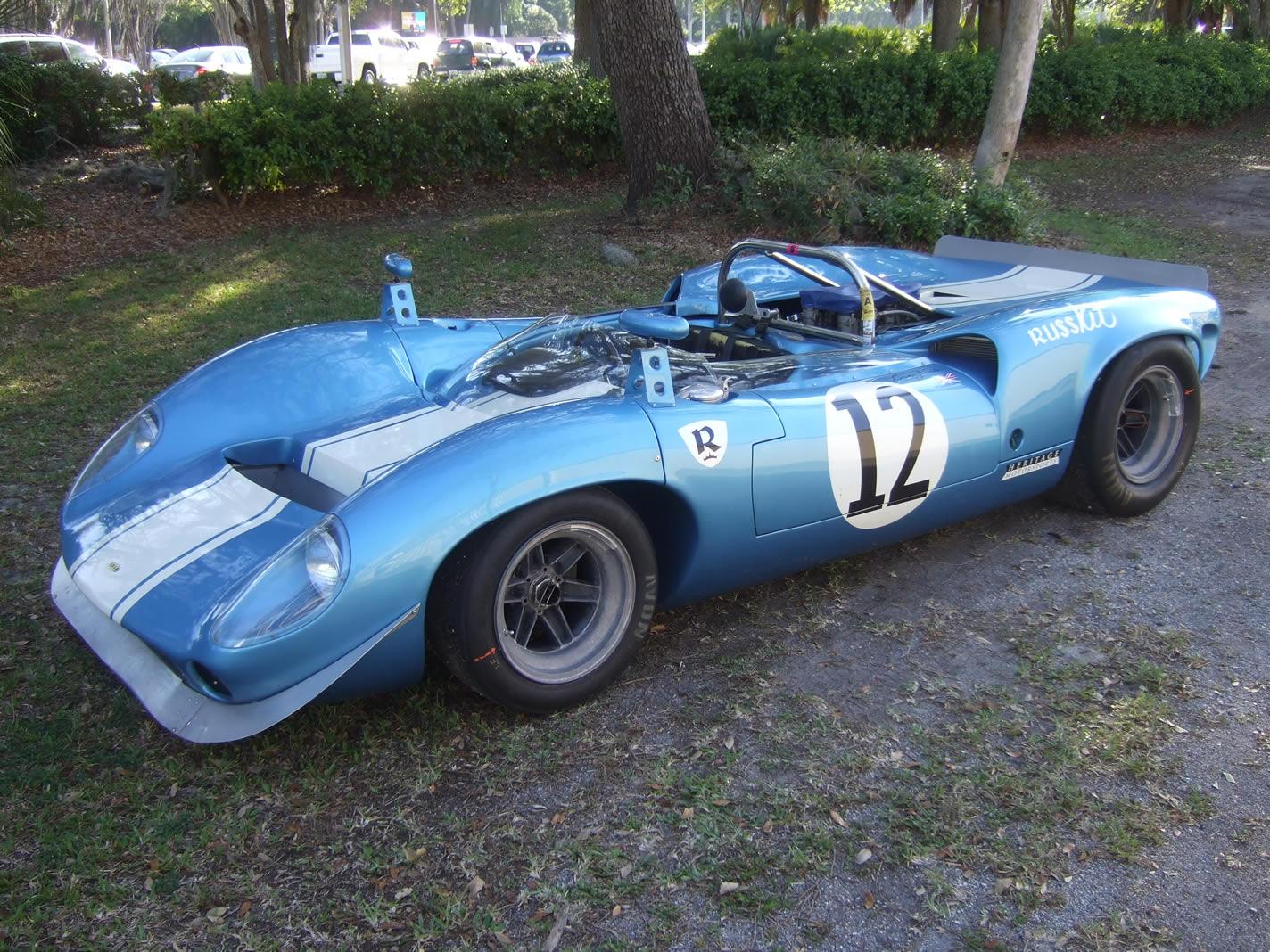 Blue 1965 Lola T70 Mark 1