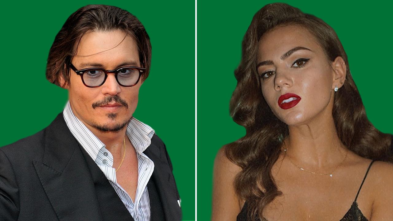 Johnny Depp and his rumored girlfriend Polina Glen