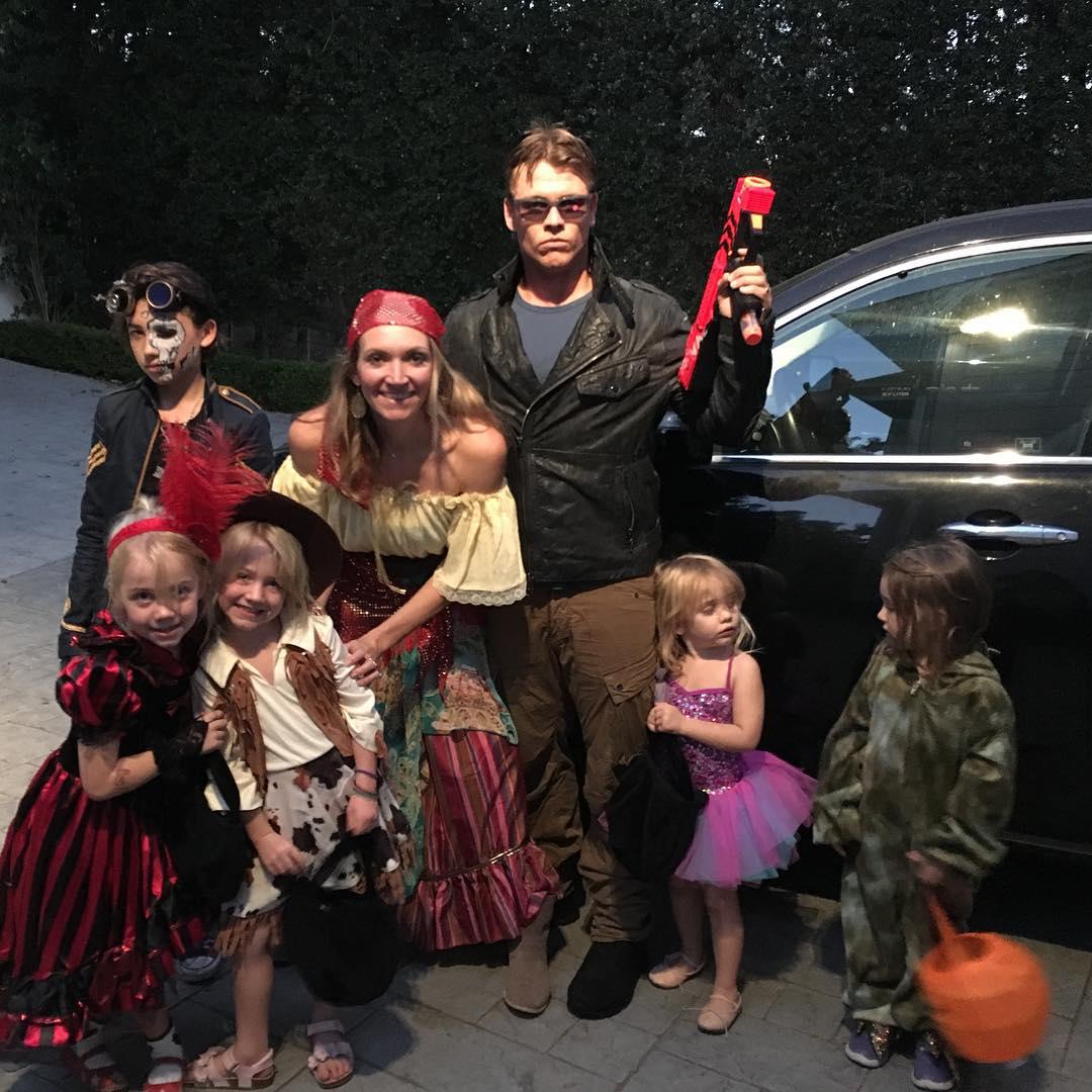 Luke Hemsworth and Samantha Hemsworth's kids