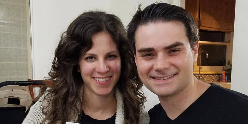 Conservative political commentator, Ben Shapiro with doctor wife, Mor Shapiro