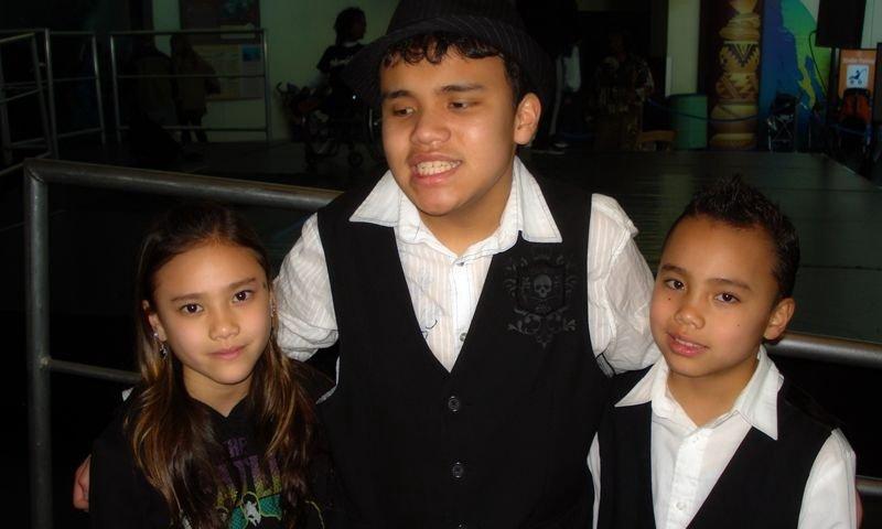 Kodi Lee's two younger siblings, Kayla andd Derek