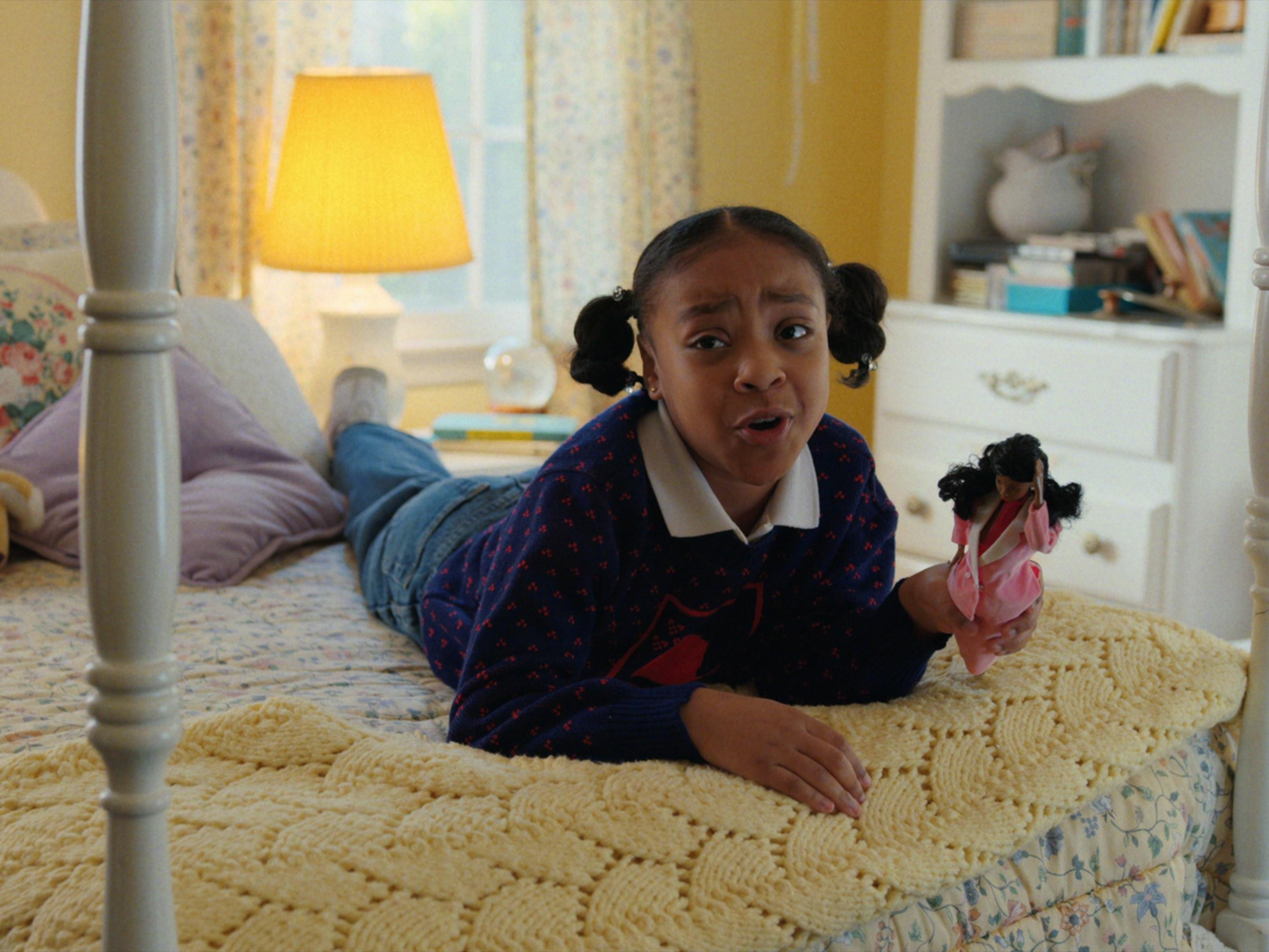 Priah Ferguson as Erica Sinclair in Netflix's Stranger Things