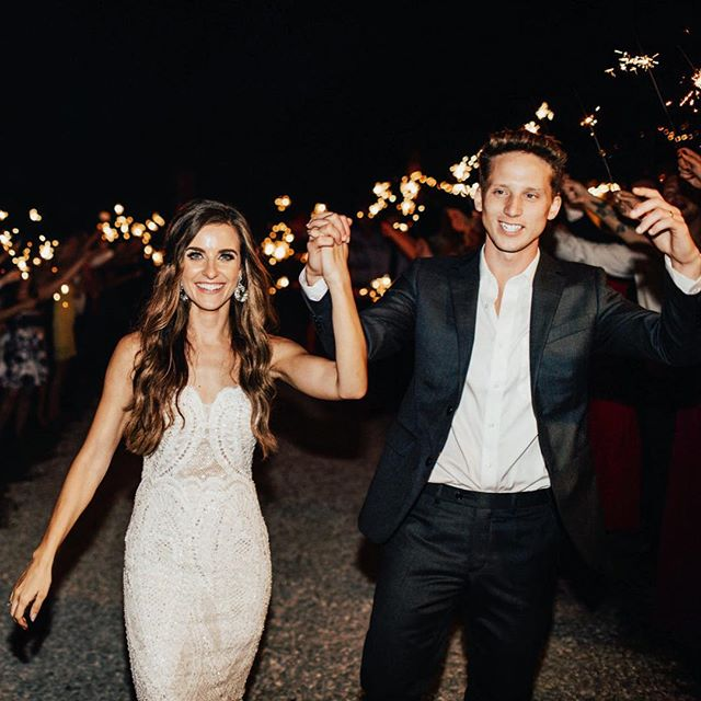 NF with his wife Bridgette Doremus. They got married in 2018