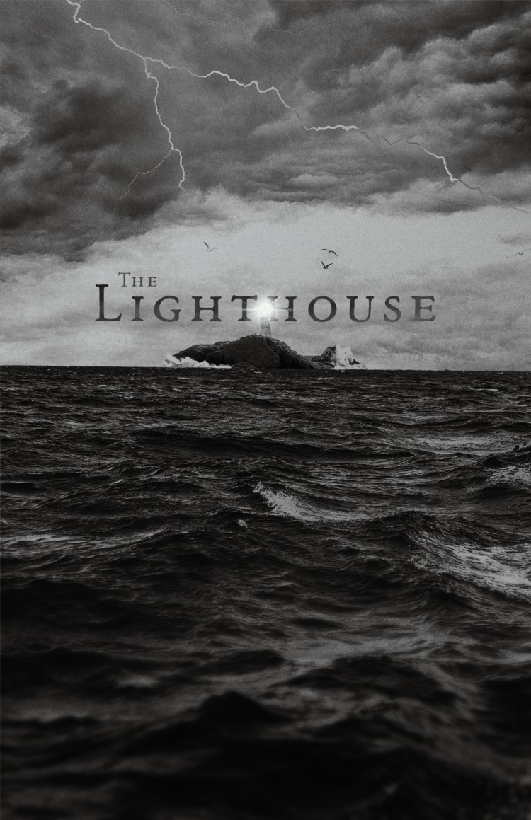 The 2019 B&W horror film, The Lighthouse, starring, Robert Pattinson, Valeriia Karaman and Willem Dafoe. The Lighthouse world premiered at the Cannes Film Festival on May 19, 2019 and is scheduled to release on October 18, 2019
