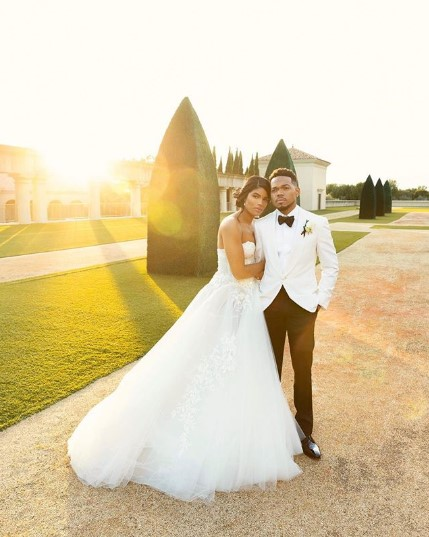 Chance the Rapper and Kirsten Corley got married at at the Luxurious Resort at Pelican Hill in Newport Beach, California