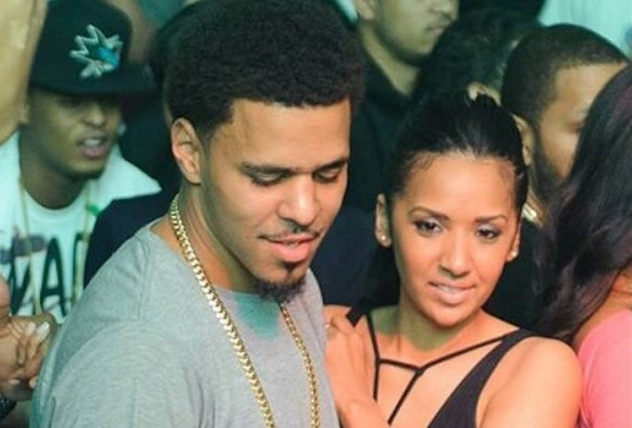 Event Planner Melissa Heholt with husband Jermaine Lamarr Cole aka J. Cole