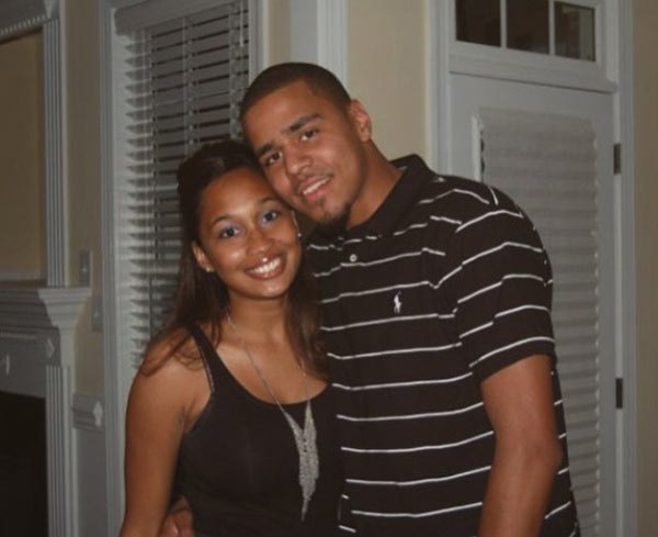 Melissa Heholt and husband, Jermaine Lamarr Cole aka J. Cole
