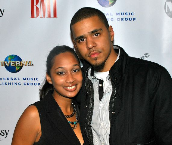 Rapper Jermaine Lamarr Cole aka J. Cole at the BMI events