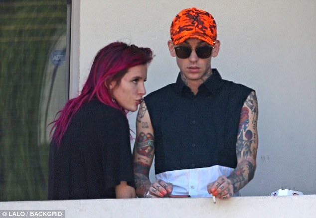 Bella Thorne with Blackbear