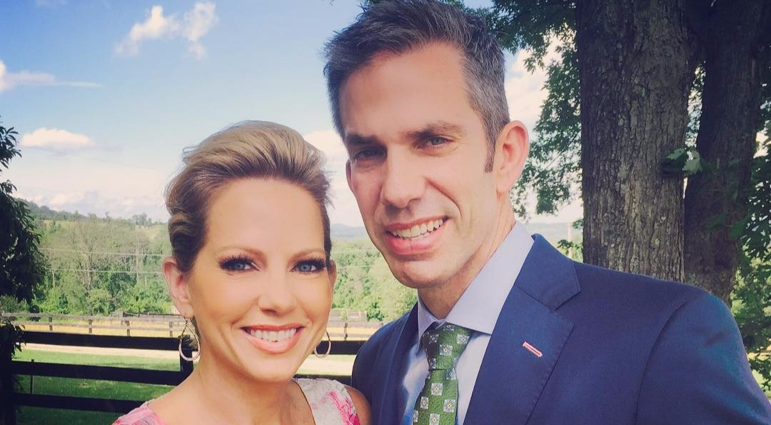 Shannon Bream and Sheldon Bream look elegant together in their classy party look.