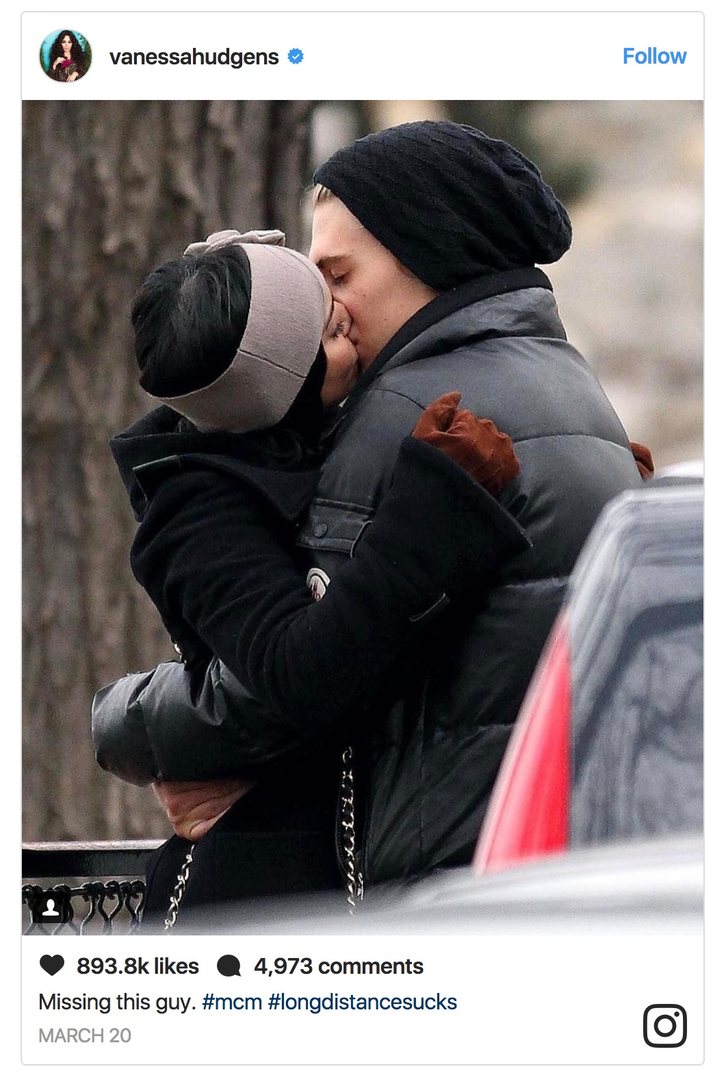 Vanessa Hudgens and Austin Butler look too cute together. The difference in their height is what makes them cute.