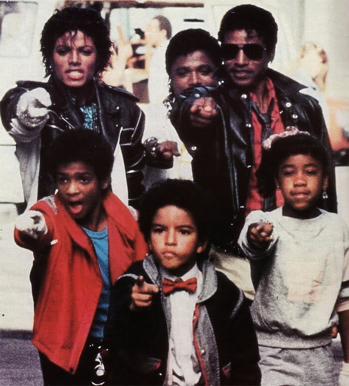 Alfonso Ribeiro captured in his Pepsi commercial with Michael Jackson.