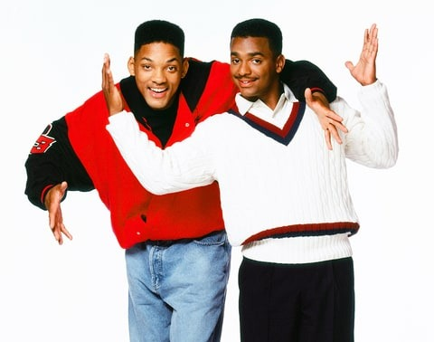 Alfonso Ribeiro and Will Smith played cousins in The Fresh Prince of Bel-Air