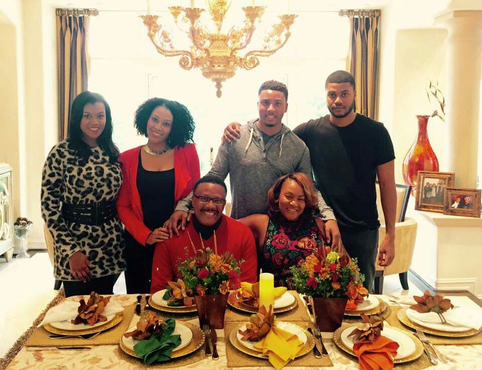 A picture perfect family of Judge Greg Mathis