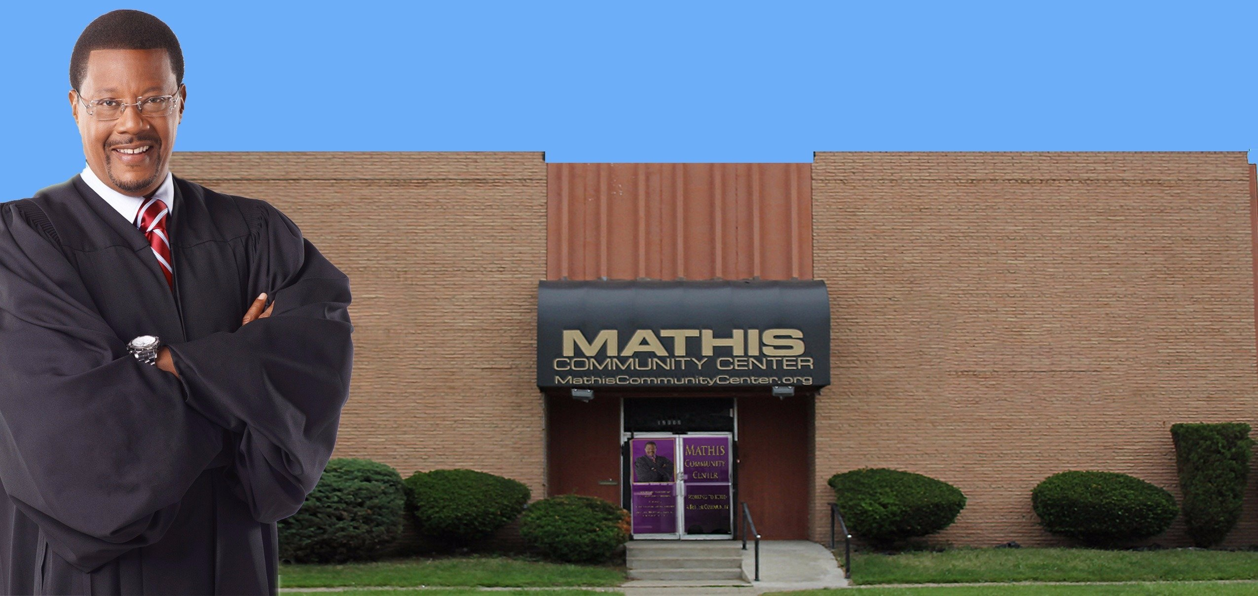 Greg Mathis has founded a community center at his home town of Detroit