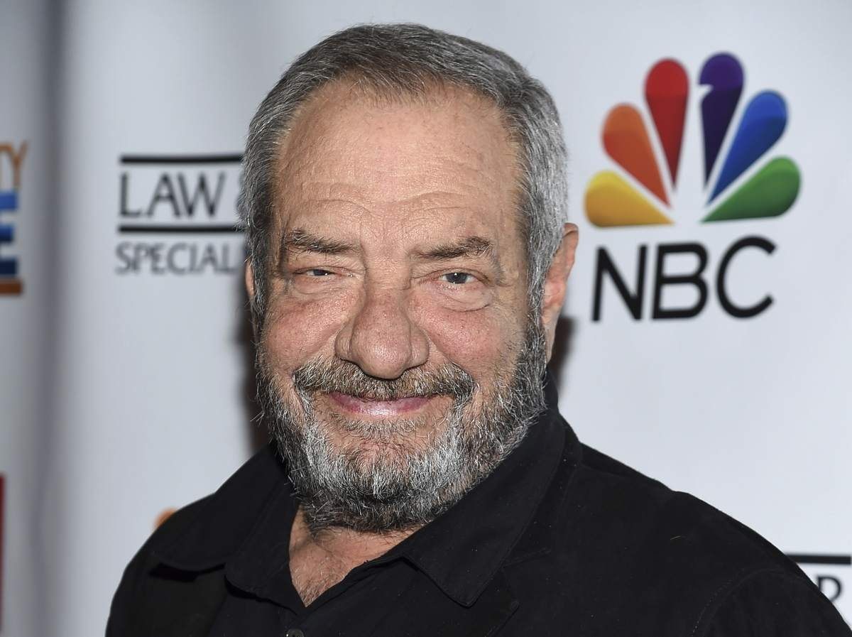 Dick Wolf smiling