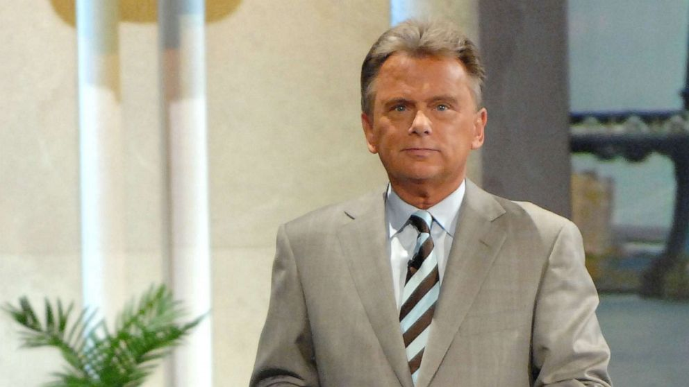 Wheel of Fortune host, Pat Sajak