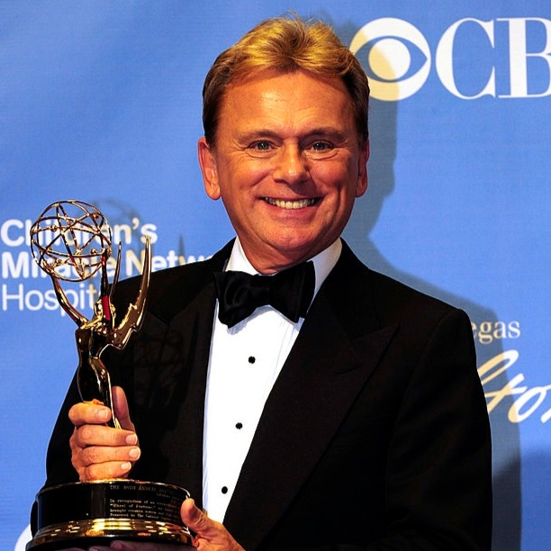 Pat Sajak won receiving Lifetime Achievement Awarda in 2011. Hosting the show for 35 years, Pat Sajak has won 3 Emmys in total.