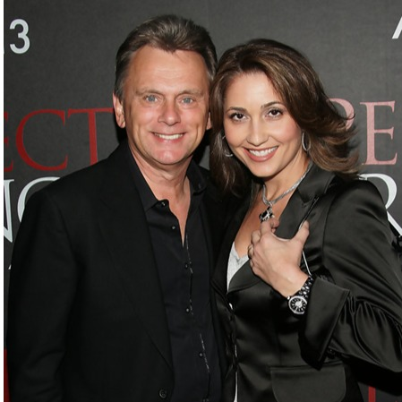Pat Sajak with wife Lesly Brown