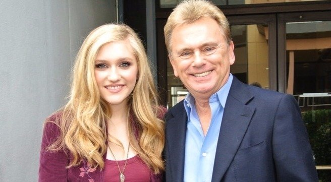 Pat Sajak with wife