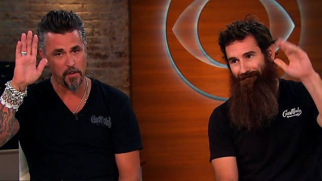 Richard Rawlings with his former partner, Aaron Kaufman
