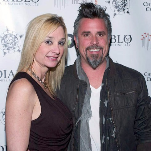 American TV host Richard Rawlings and wife Suzanne Rawlings