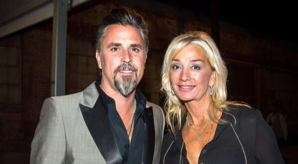 Richard Rawlings with second wife Suzanne Rawlings.
