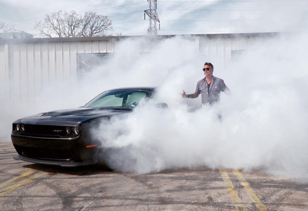 Richard Rawlings amidst a burnout