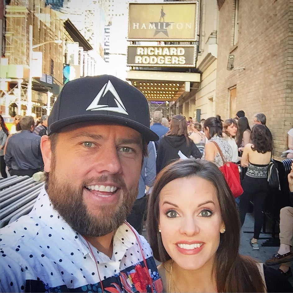 Shay Carl selfie with wife Collette Butler