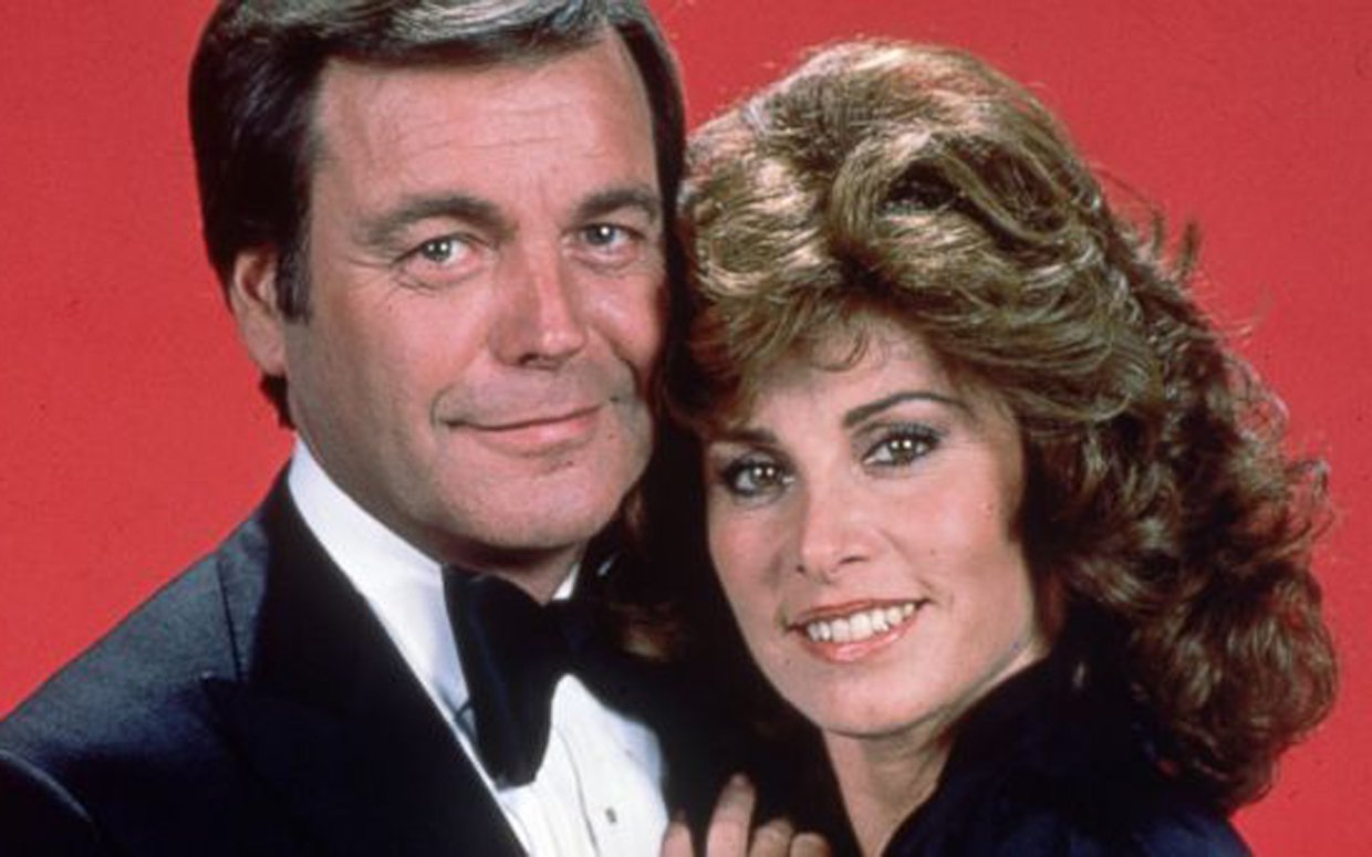 Stefanie Powers with her co-star of Hart to Hart