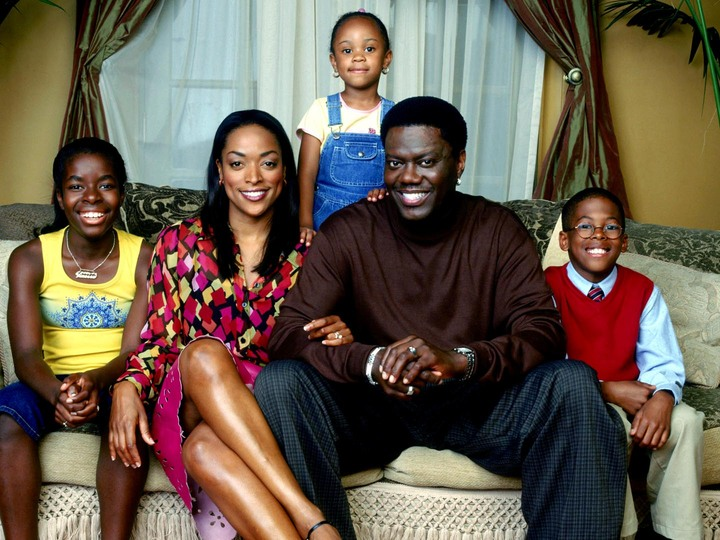 The Mac family from the show The Bernie Mac Show