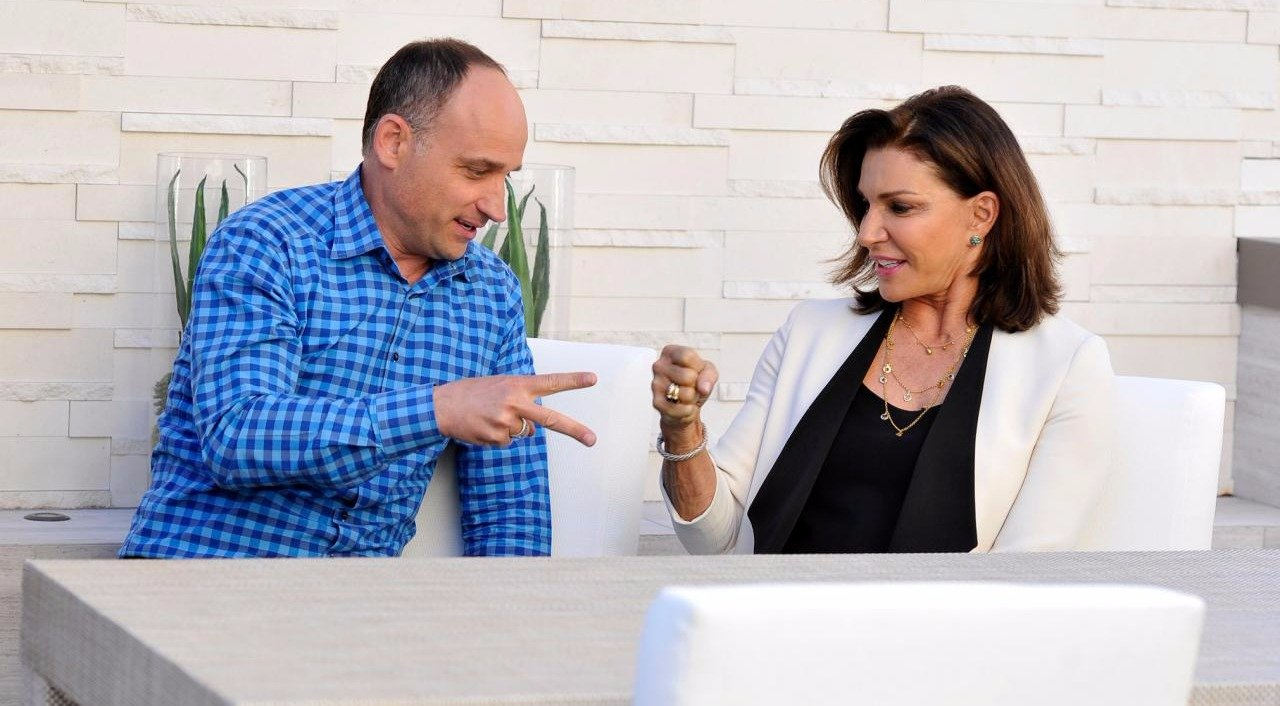 David Visentin and Hilary Farr, co-hosts of the show 'Love It or Like It'
