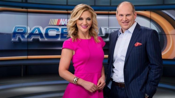 Danielle Trotta co-hosting NASCAR Race Hub on Fox Sports 1 with Adam Alexander