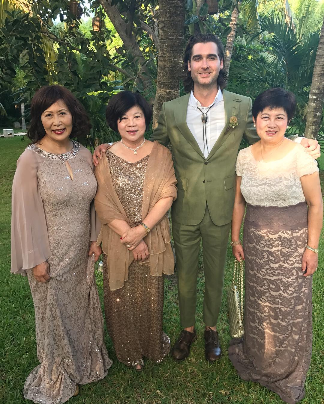 Willie Robertson and Korie Robertson's Taiwanese daughter's husband and biological mother.