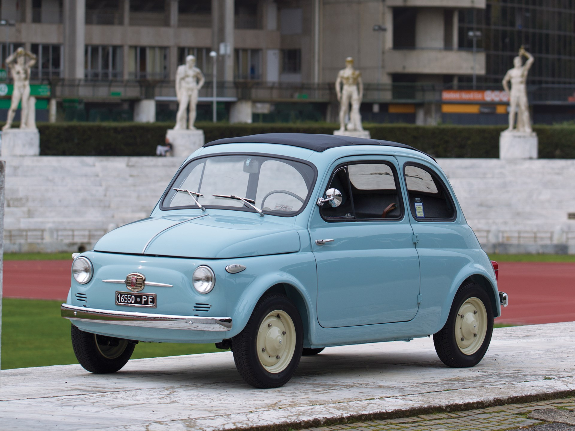 The tiny Fiat 500 has often been referred to as a  minicar due to small design