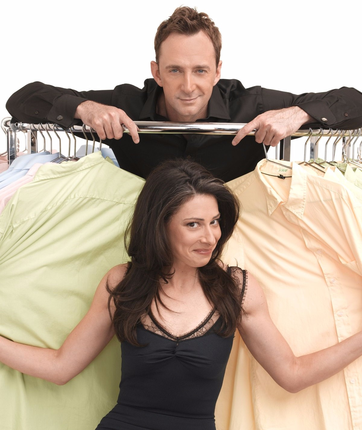 Clinton Kelly with Stacy London