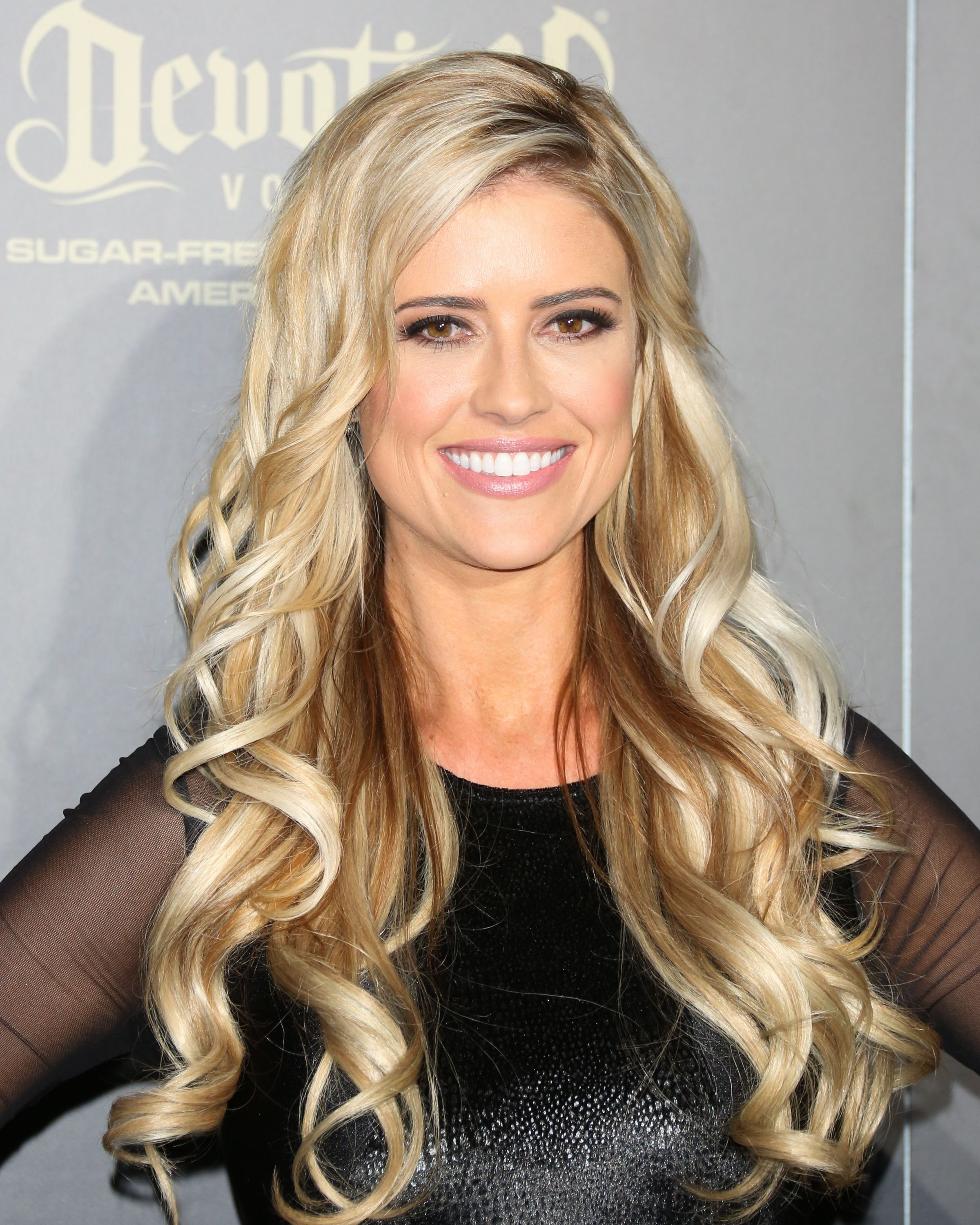 christina El Moussa smiling for a picture with