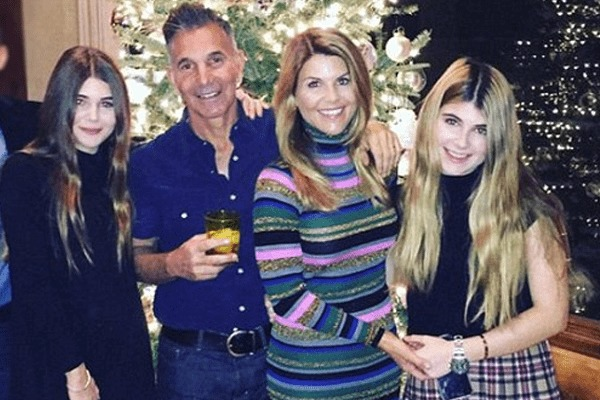 Lori Loughlin with her family