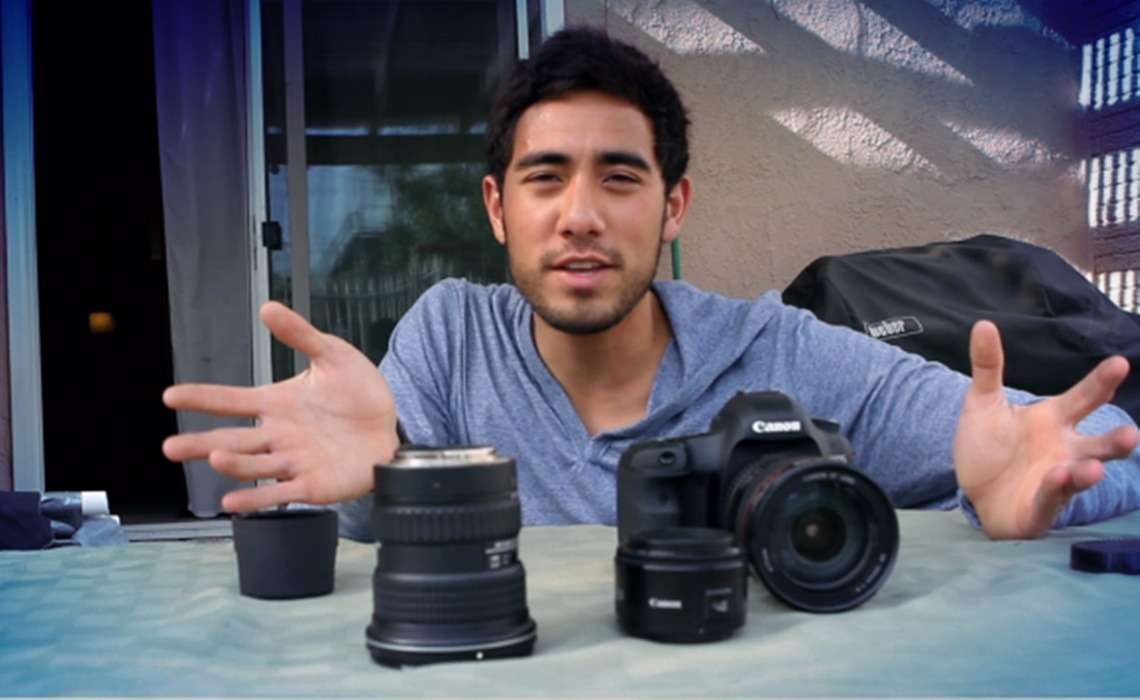 Zach King's love for video camera came at an early age