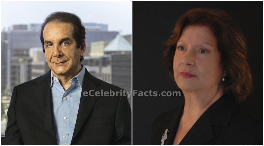 Side by side images of Charles Krauthammer and his wife Robyn Krauthammer. Charles Krauthammer and Robyn Krauthammer are co-founders of Pro Musica Hebraica.
