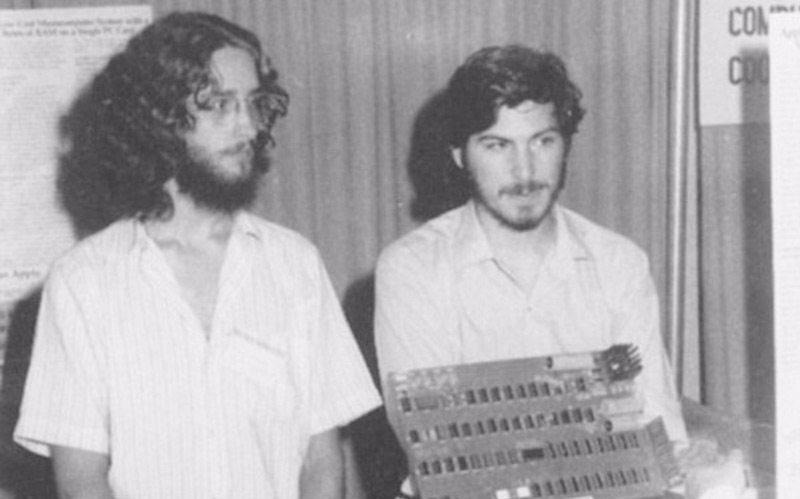 Steve Jobs with his friend Daniel Kottke