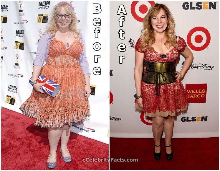 Kirsten Vangsness before and after weight loss photos