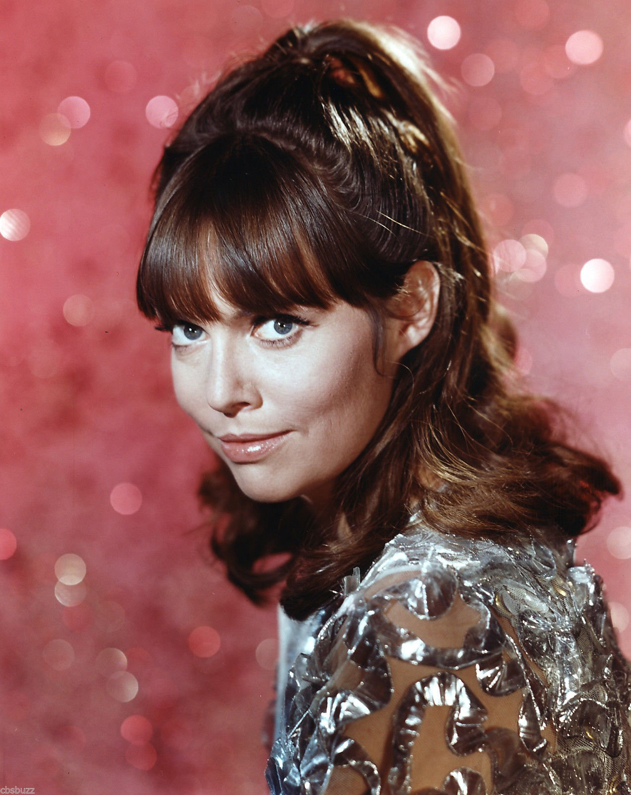 Smiling Barbara Feldon during her early career