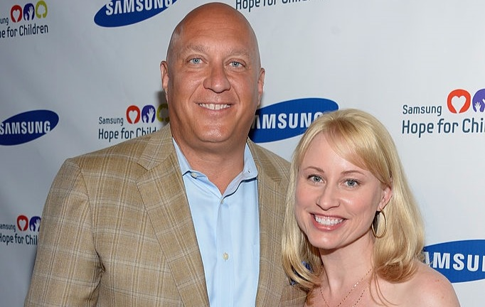 Rachelle Wilkos attending Samsung's Annual Hope for Children Gala on 11 June, 2013 in NYC with husband Steve Wilkos.