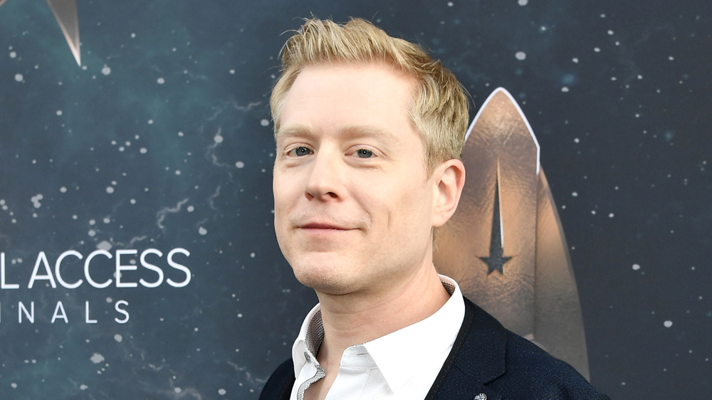 Anthony Rapp at the premiere of Star Trek