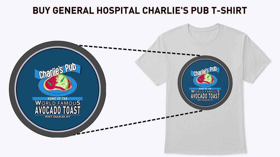 General Hospital Charlie's Pub T-Shirt